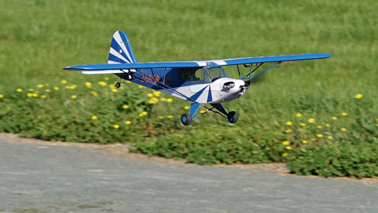 Arrows Piper J3 Cub 1100mm  RC Repülők PUP powered by MODSTER